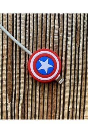 Telehome Kablo Koruyucu Sevimli Kaptan Amerika 1