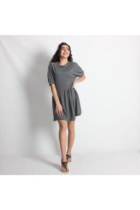 Kadınkarpuz Kol Füme Mini Elbise PMBCKTELBSFÜME01