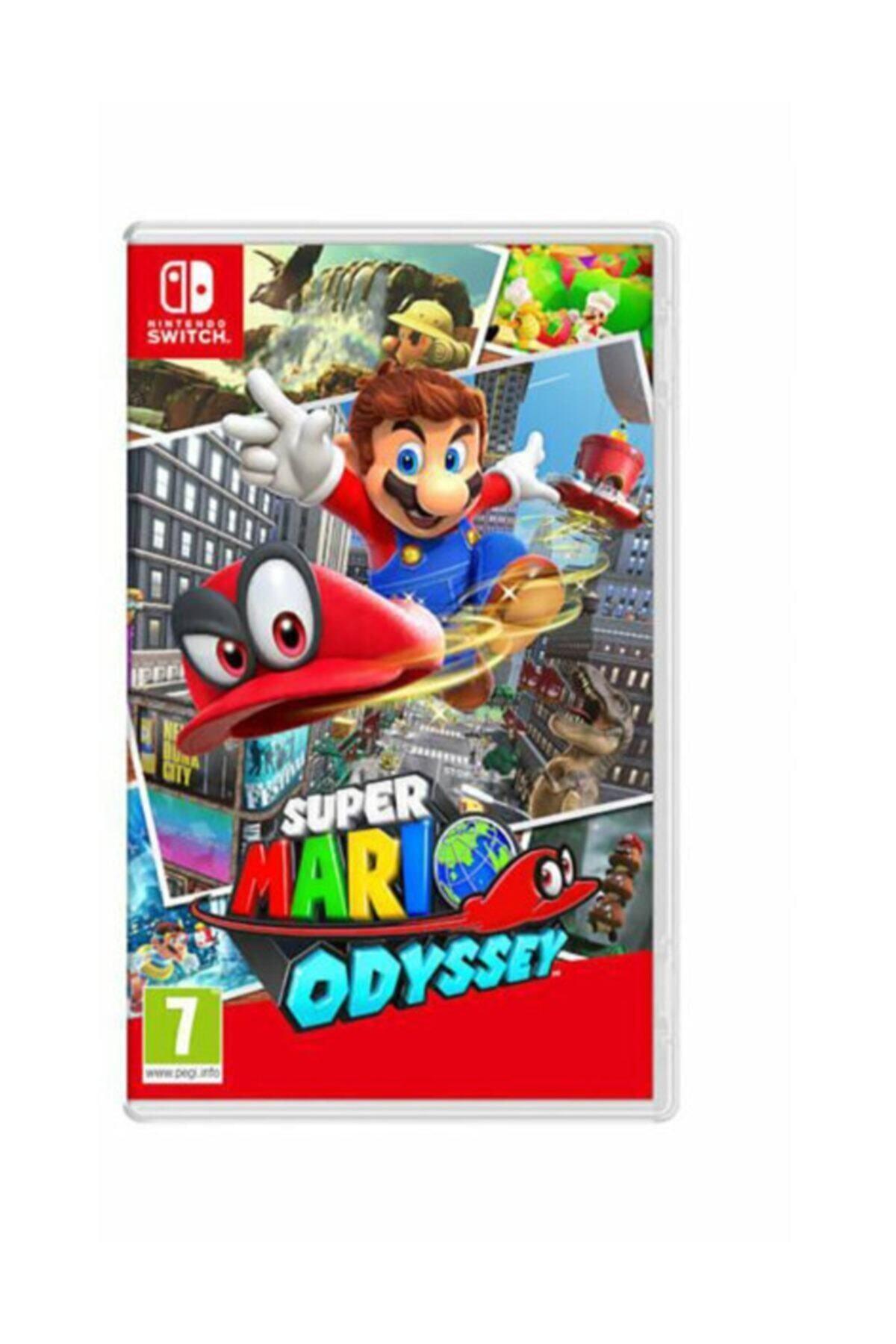 Super Mario Odyssey Switch Oyun