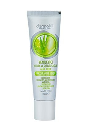 Dermokil Natural El Ve Yüz Bakım Kremi Aloe Vera 25 ml 0