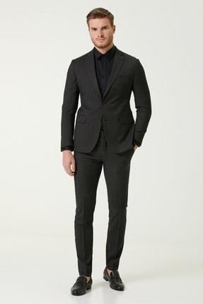 Picture of Erkek Drop 6 Siyah Yün Takım Elbise 1079036
