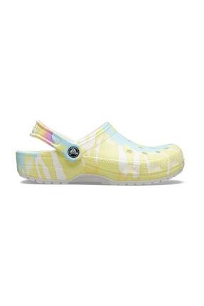 Crocs Renkli Kadın Classic Tie Dye Graphic Clog Terlik 0