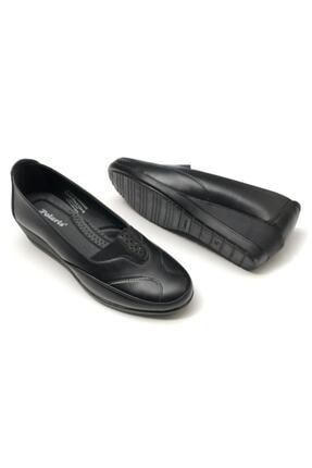 Polaris 161347.Z Siyah Kadın Comfort Ayakkabı 100548369 1