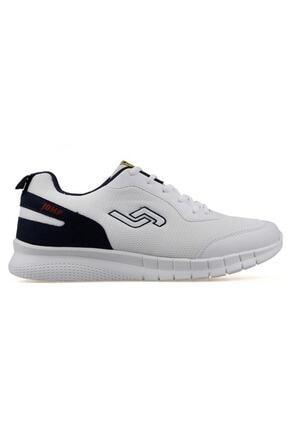 Jump 21049 Beyaz - Lacivert Erkek Spor Ayakkabı 0