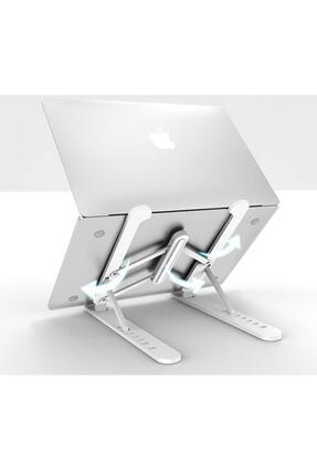 Universal Detayteknoloji Notebook Laptop Standı Özel Yükseltici Aparat Alüminyum Görüntü 0