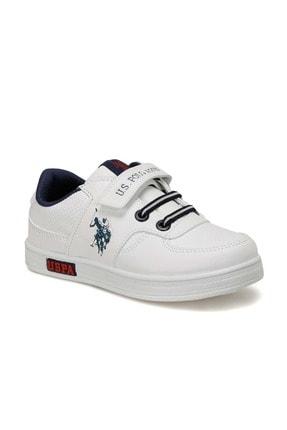 US Polo Assn Erkek Çocuk Beyaz Sneaker 100909787 0