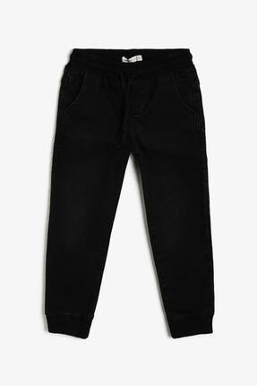 Koton Erkek Çocuk Siyah Jean 0