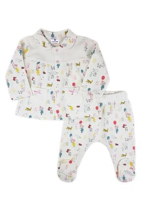 Luggi Baby Lg6027 Luggi Balon Bebe Yaka Pijama Takımı 0