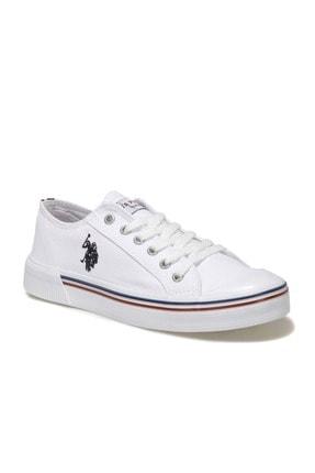 US Polo Assn Kadın  Beyaz Havuz Taban Sneaker 100696337 0