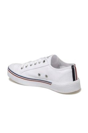 US Polo Assn Kadın  Beyaz Havuz Taban Sneaker 100696337 2