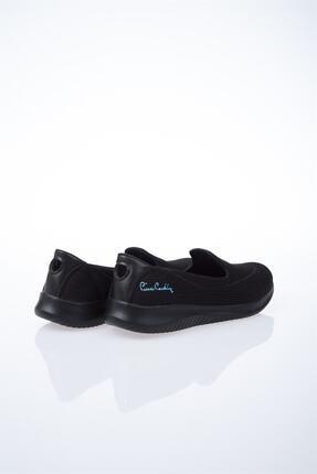 Pierre Cardin Kadın Siyah Düz Yürüyüş Ayakkabısı 3