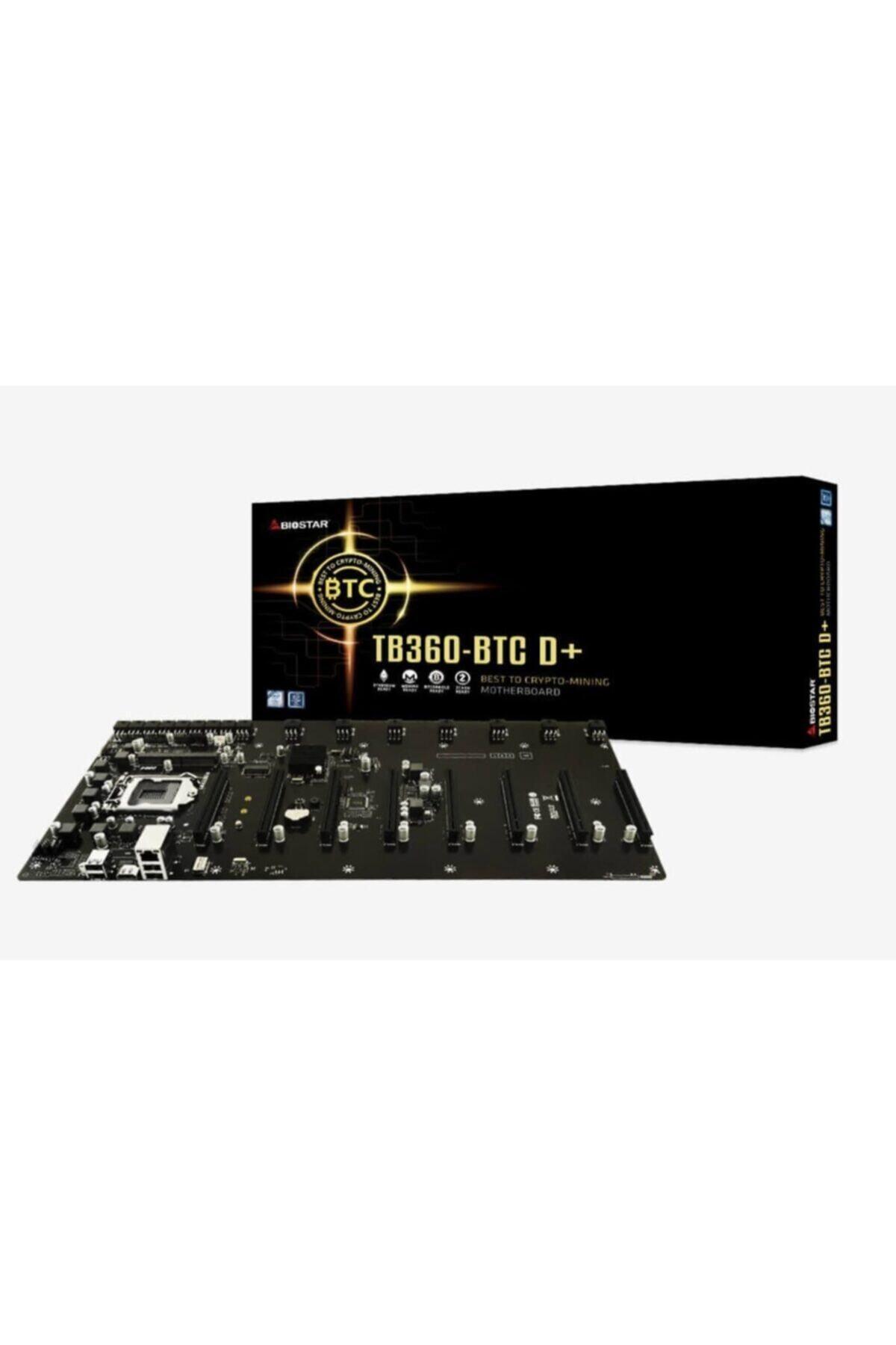 Tb360-btc D+ Lga1151 Ddr4 - 8 Ekran Kartı Girişli Mining Anakartı