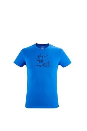Picture of Erkek Mavi  T-Shirt