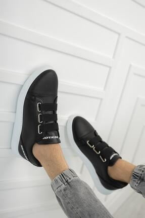 Dunlop Erkek Siyah Lastikli Spor Ayakkabı 1207 0