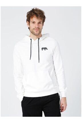 Picture of Erkek Beyaz Sweatshirt