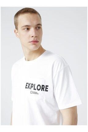 Picture of Erkek Beyaz Kısa Kollu Tişört