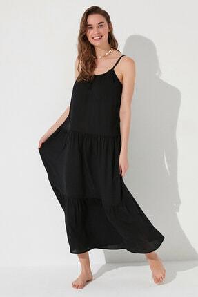 Penti Kadın Siyah Calista Elbise 0