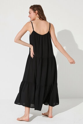 Penti Kadın Siyah Calista Elbise 3