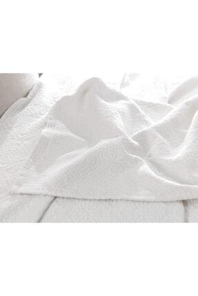 Madame Coco Elita King Size Yatak Örtüsü - Beyaz 3
