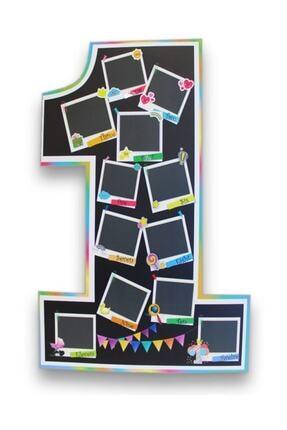 Big Party 1 Yaş Ayaklı Fotoğraf Panosu 0
