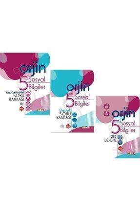 Gama Yayınları 5. Sınıf Orjin Sosyal Bilgiler Seti 0