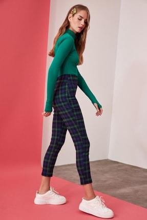 TRENDYOLMİLLA Çok Renkli Yüksek Bel Skinny Pantolon TWOAW21PL0208 1