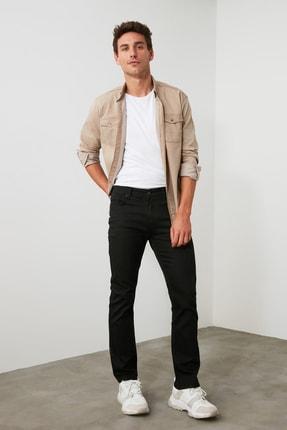 TRENDYOL MAN Siyah Erkek Straight Jeans TMNAW20JE0002 3