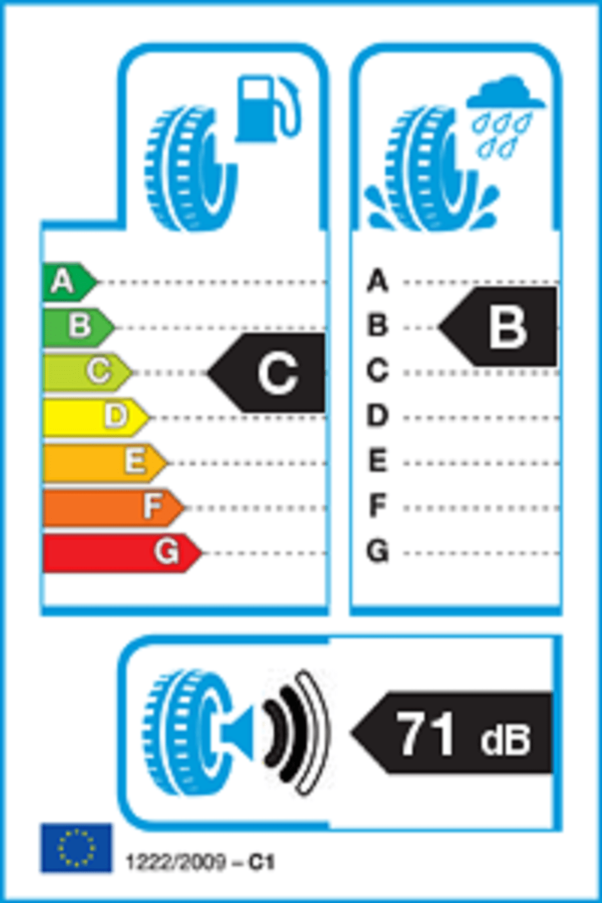 Lassa 205/65R16C Transway 2 107/105R 8Kat Yaz Lastiği (Üretim 2020) 2