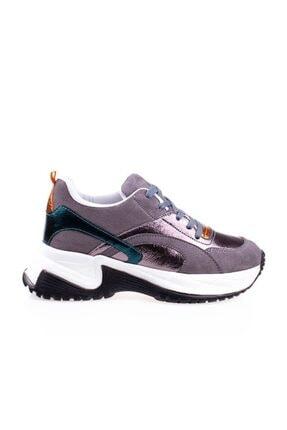 Pierre Cardin Kalın Taban Kadın Füme Spor Ayakkabı Pc-30230 0