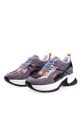 Pierre Cardin Kalın Taban Kadın Füme Spor Ayakkabı Pc-30230 2