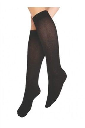تصویر از 12 Adet 40 Den Orta Kalın Dizaltı Çorap