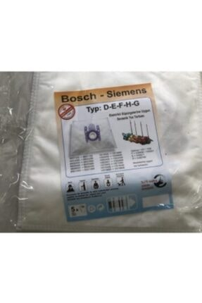 Bosch Marka Süpürge Torbası 0