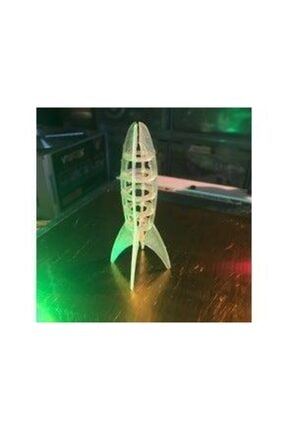 AldımGeldi Roket Dekoratif Biblo Dekor 2