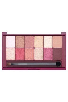 Maybelline Göz Farı Paleti - The Burgundy Eye Shadow Palette 3600531429911 1