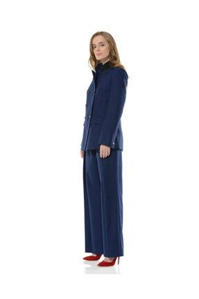 BİRELİN Kadın Mavi Nazorin Ceket 1