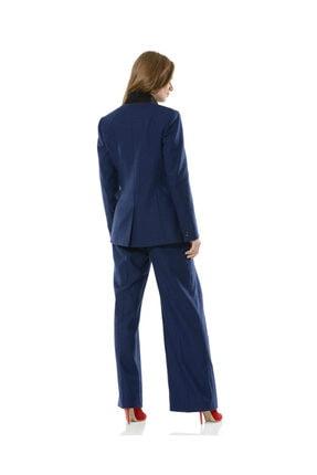 BİRELİN Kadın Mavi Nazorin Ceket 2