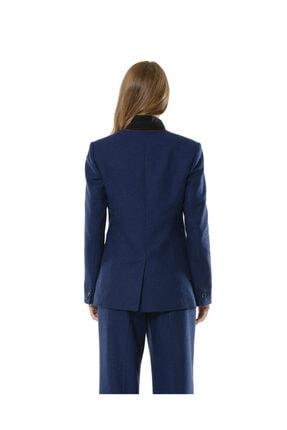 BİRELİN Kadın Mavi Nazorin Ceket 4