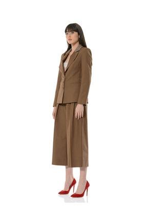 BİRELİN Kadın Kahverengi Terra Ceket 3