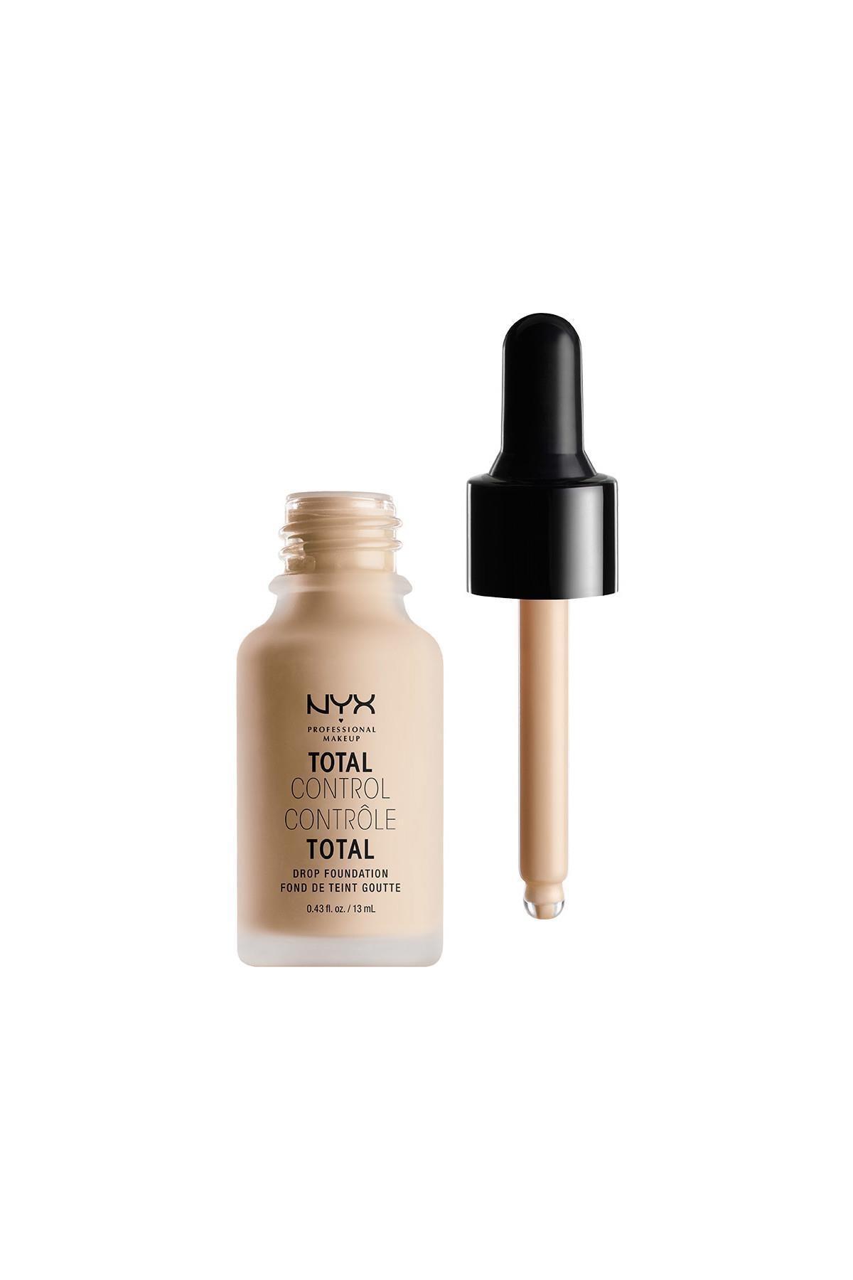 NYX Professional Makeup Mat Fondöten - Total Control Drop Foundation Vanilla 800897068790 1