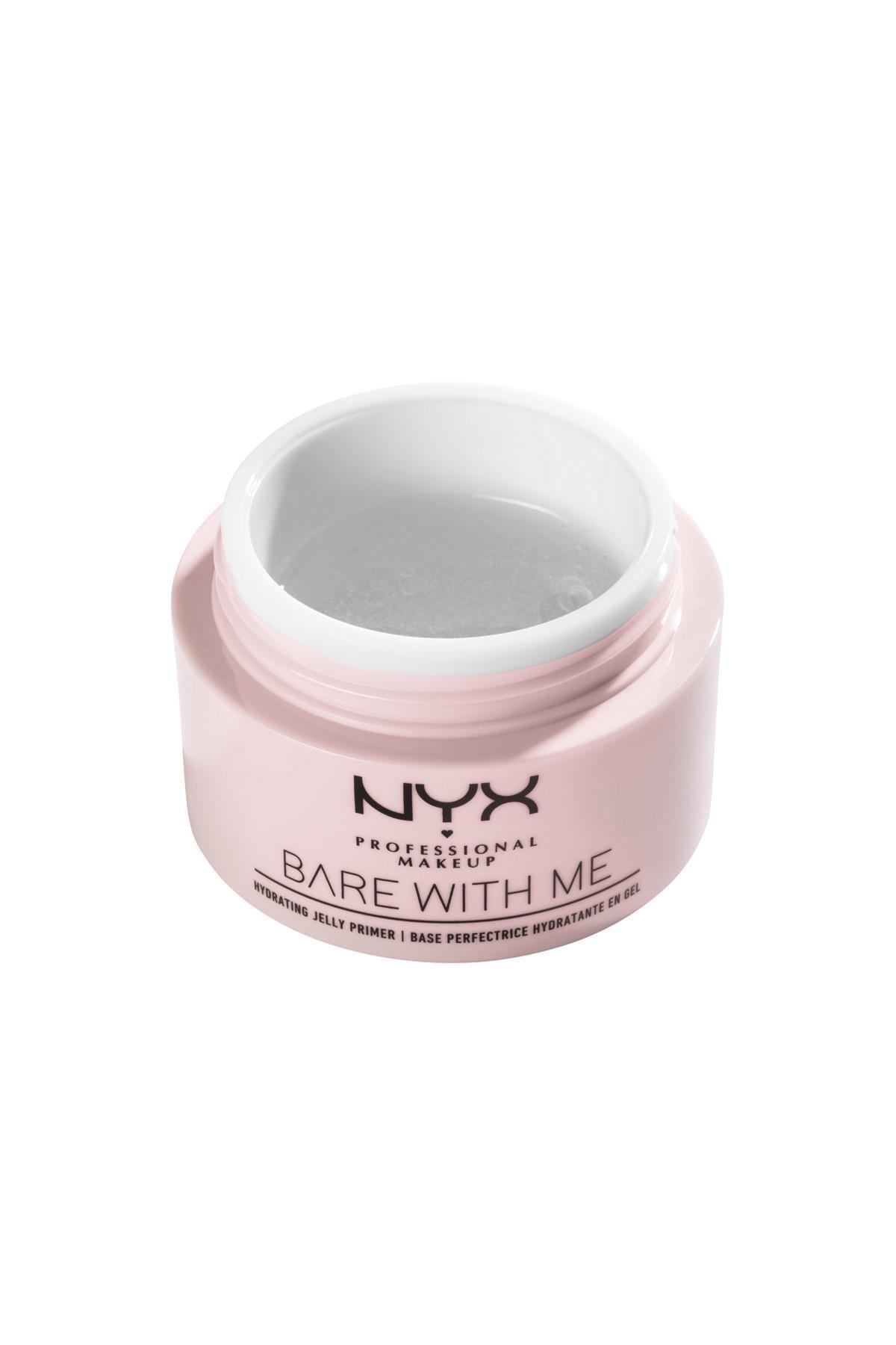 NYX Professional Makeup Nemlendirici Makyaj Bazı - Bare With Me Hydrating Jelly Primer 800897182557 1