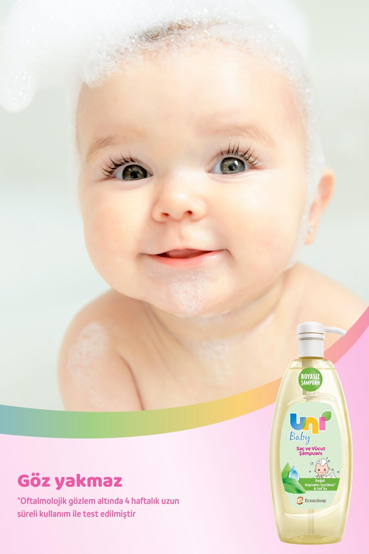 Uni Baby Bebek Şampuanı 900 ml x3 3