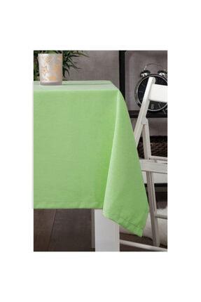 Zeren Home Leke Tutmaz Dertsiz Masa Örtüsü Açık Yeşil 170 X 280 Cm 0