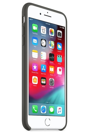 Ebotek Iphone Xs Max Kılıf Silikon Içi Kadife Lansman Gri 1