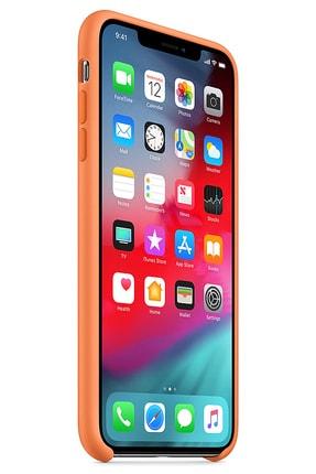 Ebotek Iphone Xs Max Kılıf Silikon Içi Kadife Lansman Papaya 1