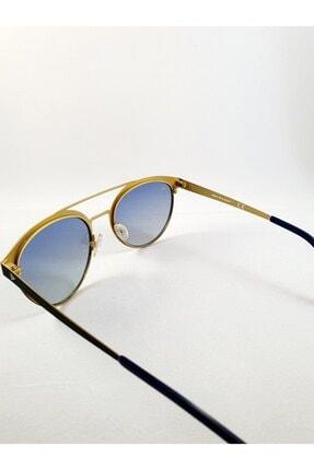 Dunlop Oval Cat Eye Tasarım Siyah Bakır Metal Hafif Çerçeveli Kadın Güneş Gözlüğü 3