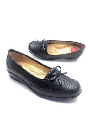 Derilax Kadın Siyah Tam Ortopedik Anne Ayakkabısı 1