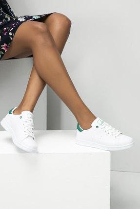 Ayakkabı Modası Kadın Beyaz Sneaker Ayakkabı 0