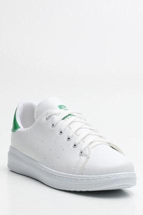 Ayakkabı Modası Kadın Beyaz Sneaker Ayakkabı 4