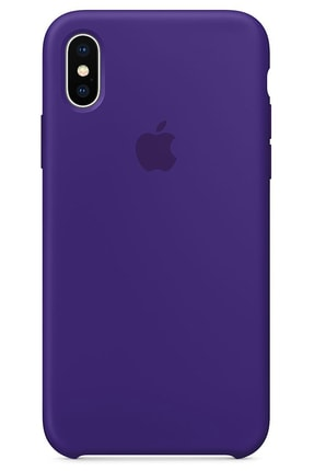 Ebotek Iphone Xs Max Kılıf Silikon Içi Kadife Lansman Mor 0