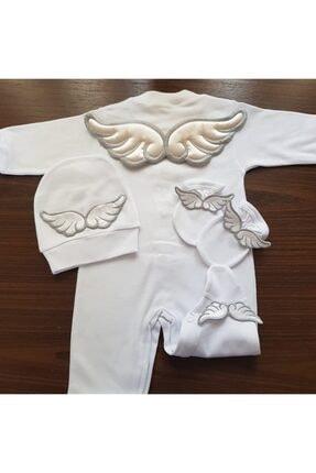 Gülsebaby üç boyutlu melek kanadı tulum seti 0